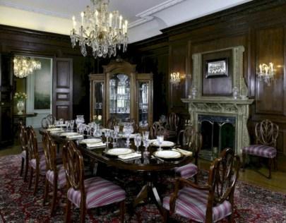 Vintage victorian dining room decor ideas (44)