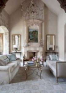 Beautiful french country living room ideas 14