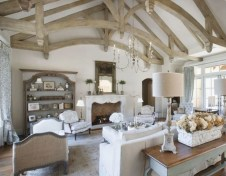 Beautiful french country living room ideas 17
