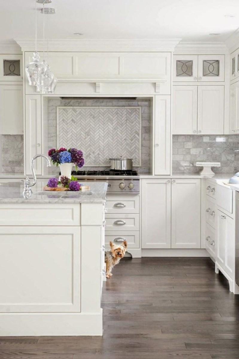 Beautiful gray kitchen cabinets design ideas 20