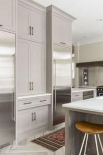 Beautiful gray kitchen cabinets design ideas 27