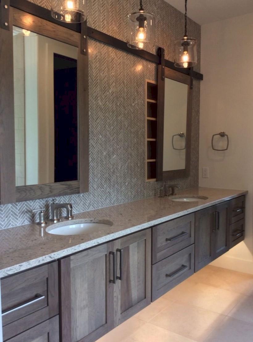 Beautiful gray kitchen cabinets design ideas 37
