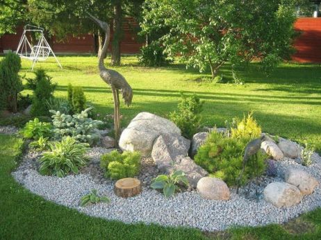 Beautiful rock garden landscaping ideas 01