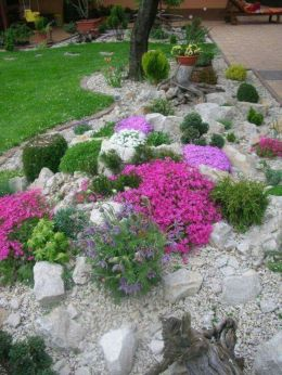 Beautiful rock garden landscaping ideas 04