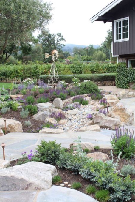 Beautiful rock garden landscaping ideas 05