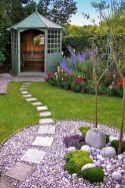 Beautiful rock garden landscaping ideas 34