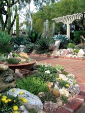 Beautiful rock garden landscaping ideas 41