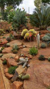 Beautiful rock garden landscaping ideas 45