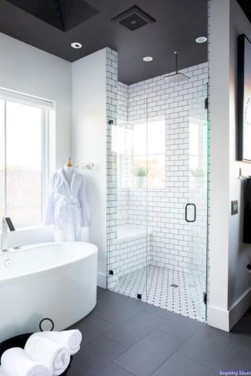 Cool attic bathroom remodel ideas 05