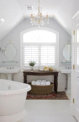 Cool attic bathroom remodel ideas 06