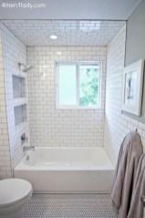 Cool attic bathroom remodel ideas 37
