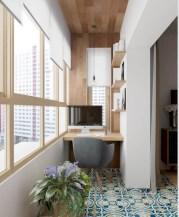 Cozy small balcony design decoration ideas 07