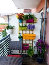 Cozy small balcony design decoration ideas 16