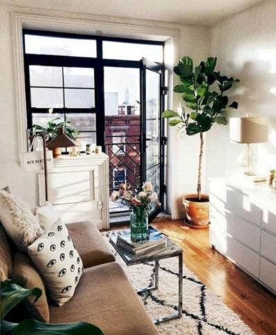 Cozy small balcony design decoration ideas 42