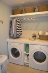 Creative small laundry room organization ideas 02