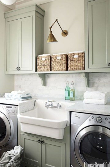 Creative small laundry room organization ideas 05