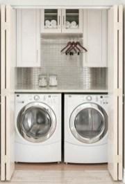 Creative small laundry room organization ideas 12