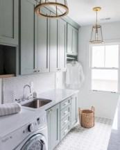 Creative small laundry room organization ideas 22