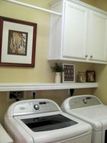 Creative small laundry room organization ideas 25