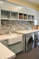 Creative small laundry room organization ideas 36