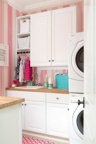 Creative small laundry room organization ideas 40