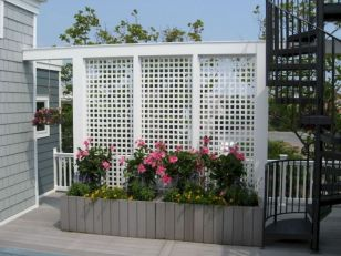 Easy and cheap backyard privacy fence design ideas 32