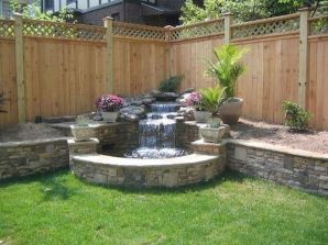 Easy and cheap backyard privacy fence design ideas 39