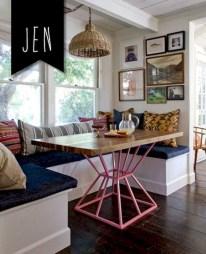 Genius small dining room table design ideas 08