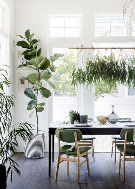 Genius small dining room table design ideas 16