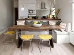 Genius small dining room table design ideas 17
