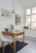 Genius small dining room table design ideas 19