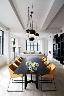 Genius small dining room table design ideas 22