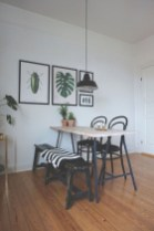 Genius small dining room table design ideas 38