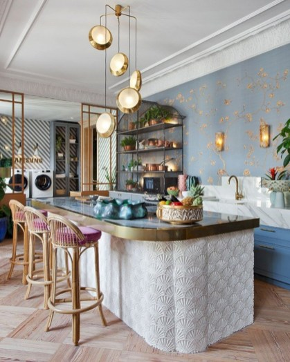 Genius small dining room table design ideas 41