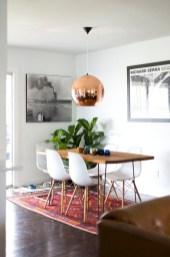 Genius small dining room table design ideas 44