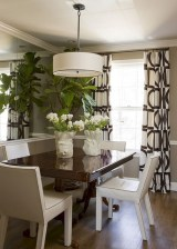 Genius small dining room table design ideas 45