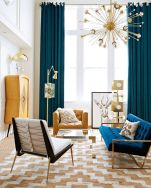Mid century modern living room furniture ideas 12