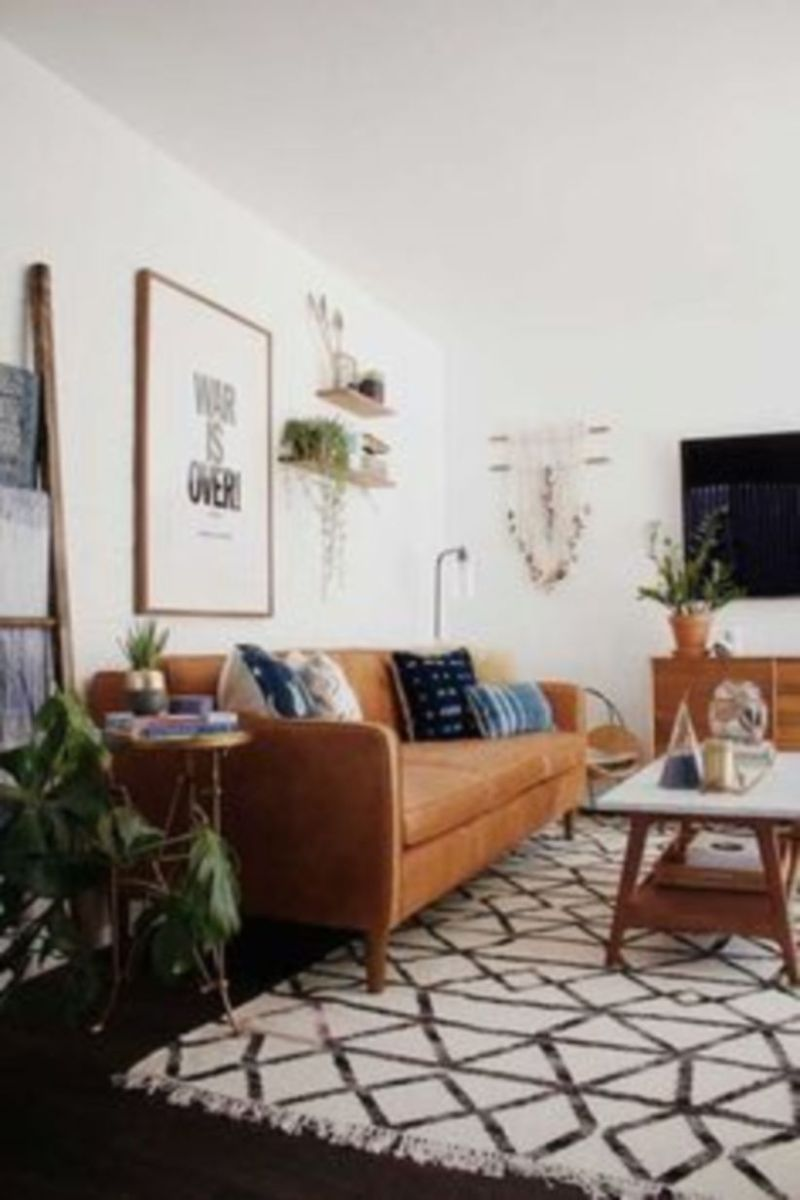 Mid century modern living room furniture ideas 21