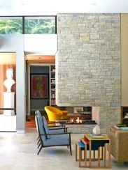 Mid century modern living room furniture ideas 24