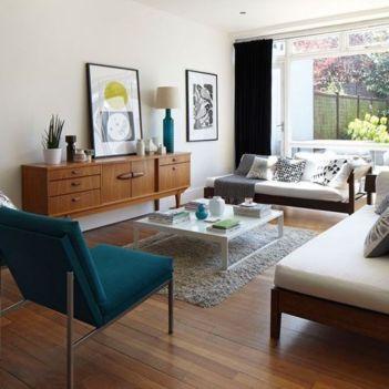 Mid century modern living room furniture ideas 33