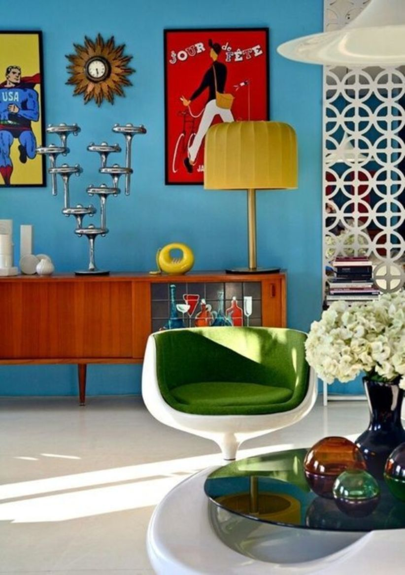Mid century modern living room furniture ideas 47