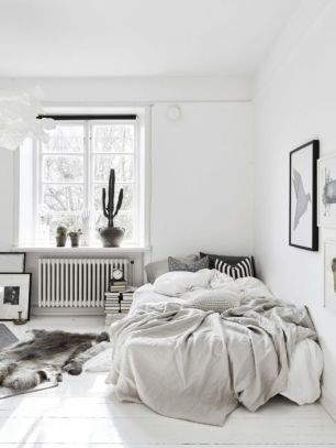 Modern scandinavian bedroom designs ideas 42