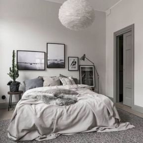 Modern scandinavian bedroom designs ideas 47