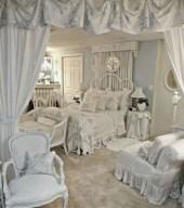 Romantic shabby chic bedroom decorating ideas 01