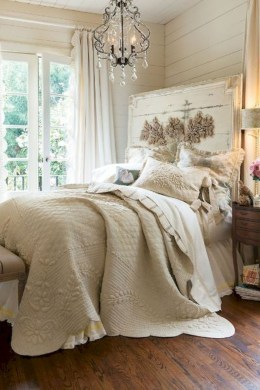 Romantic shabby chic bedroom decorating ideas 08