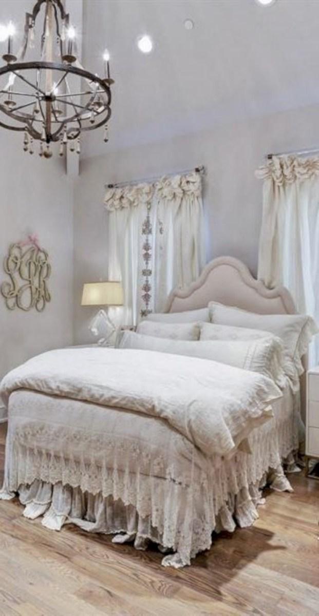 Romantic shabby chic bedroom decorating ideas 16