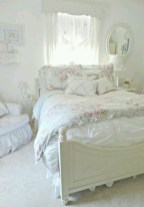Romantic shabby chic bedroom decorating ideas 20