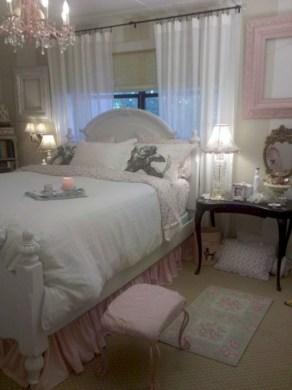 Romantic shabby chic bedroom decorating ideas 25