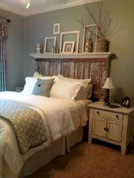 Romantic shabby chic bedroom decorating ideas 36
