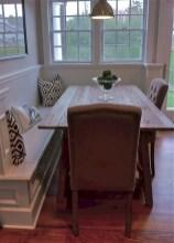 Rustic farmhouse dining room table decor ideas 25